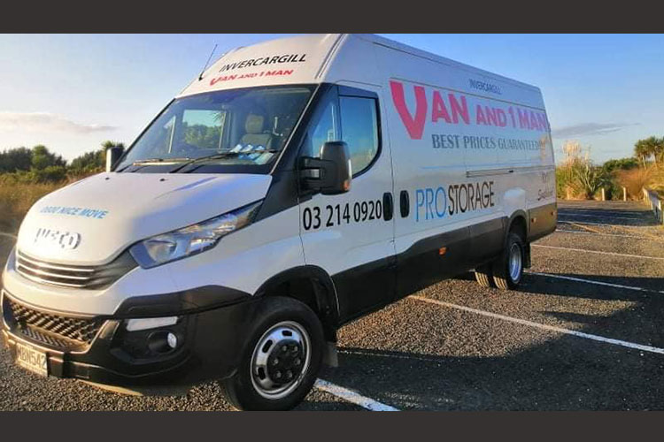 Hourly Rate - Van and 2 Men